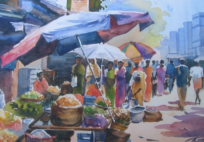 Paintings by Gayathri